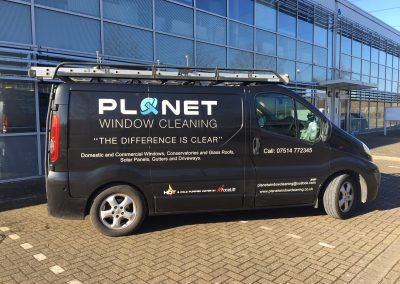 commercial window cleaning in bushey heath